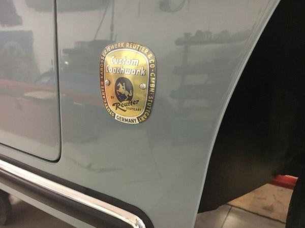 swf k3260,reutter,emblem porsche